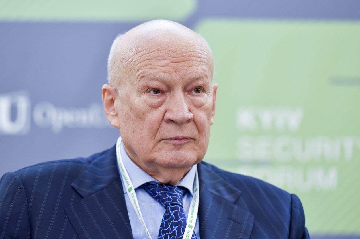 Володимир Горбулін, голова Наглядової ради Українського інституту безпекових досліджень